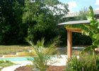 Chez Karine et David - jardin + piscine