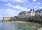 Plage du Môle à Saint-Malo