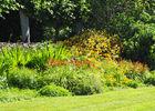 Massif de plantes vivaces - Malouinière du Montmarin - Pleurtuit