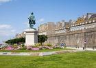 Statue de Mahé de la Bourdonnais - Saint-Malo ©Philippe Josselin