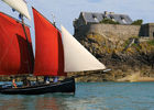SENSATIONS LITTORAL-vieux gréement  fort harbourg-StMalo