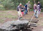 Atelier déplacement de menhir - Monteneuf - Destination Brocéliande