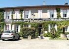 Hotel restaurant Auberge des palmiers RIEUMES devanture