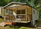 Mobilhome exterieur Camping MONTMAURIN