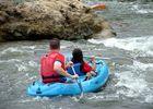 eaux vives balade canoe passage d'eau vive en aval VENERQUE