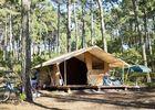 Camping-coben les pins-carcans-bungalow toilé -©Camping Indigo - R.Etienne