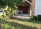Location de vacances Mme Cheylat - terrasse couverte - Carcans