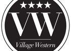 Logo 2012 Rond Noir Village Western