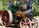 Ancienne locomotive - Musée de Cuzals