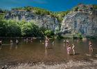 Baignade dans la Dordogne à Gluges_04 © Lot Tourisme - C. ORY