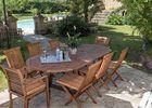 CAZALS - Domaine de Vielcastel - Terrasse salon de jardin