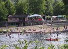 Camping de la Plage à Saint Cirq Lapopie