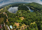 Chalets de Mirandol-Vayrac-vue aerienne