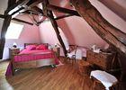 Chambre rose - Les Bouyssières - Creysse © COCHISE