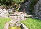 Frayssinet le Gélat : Fontaine