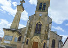 Concots - Place de l'église © Lot Tourisme - C. Sanchez