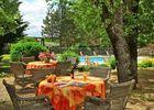 Hostellerie du Causse - Gramat - terrasse