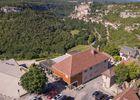 Hôtel Le Belvédère-Rocamadour-vue aérienne