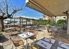 Hotel le Ballaroc - rocamadour - terrasse