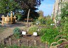Jardin médiéval - Capdenac-Le-Haut