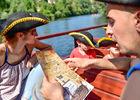 """La """"Croisière Pirate"""" - lecture de la carte au trésor_14 © Lot Tourisme - C. ORY"""