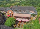 La terrasse - 4- Relais Saint Jacques - Collonges-la-Rouge