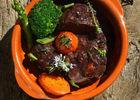 Le lapin en sauce noire de mémé Aurélie - restaurant La Garenne_01