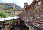 Les jardins de la louve_Rocamadour_vue