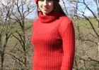 PCUMID046FS00009_6 Ferme de Siran-Pull et bonnet Mohair©GaelleTaillefer