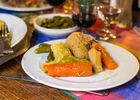 Poule au Pot - Restaurant Lou Bourdié à Bach ©© Lot Tourisme - C. Novello 160414-131656