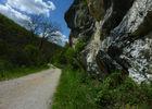 Rocamadour - Passage au pied des falaises_05 © Lot Tourisme - C. Sanchez