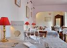 Salle du restaurant détail- Relais Saint Jacques - Collonges-la-Rouge