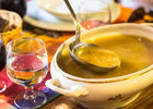 Soupe au Restaurant Lou Bourdié à Bach ©© Lot Tourisme - C. Novello 160414-124551