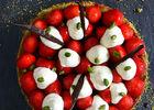 Tarte aux fraises - restaurant Le Marché_01