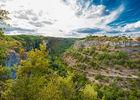 Vue sur le causse et le Canyon de l'Alzou - boucle du moulin du Saut--© Lot Tourisme - C. ORY 72 dpi