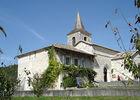 Eglise de Saint-Georges à Lascabanes