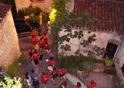 Fête de St Cirq Lapopie, feu d'artifice