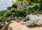 hotel les falaises-gluges martel-terrasse chambre