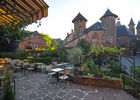 la terrasse - 1- Relais Saint Jacques - Collonges-la-Rouge