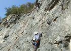 la falaise aux corbeaux - Les Grimpeurs de Noblat