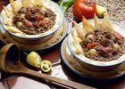 repas lentilles 2 assiettes