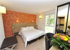 Chambre confrt + terrasse Hôtel Les 2 Rives Logis