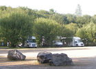 Aire camping-cars Lac à Vielle