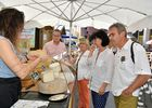Stand fromage marché - Gilles Arroyo