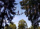 Parc Aventure Domaine du Buisson - Passerelle - Lac du Der