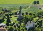 Statue Pape Urbain II - Chatillon sur Marne