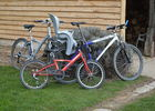 4 vélos adulte et 4 vélos enfant + siège bébé (gratuit)