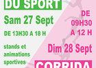 Affiche Fête du Sport