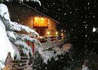 Le Cortal sous la neige