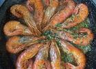 Paella de la mer gambas
